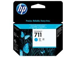 HP náplň č. 711 azúrová, 29 ml