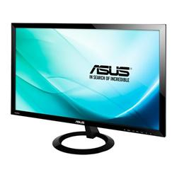 "ASUS VX248H 24""W LCD LED 1920x1080 Full HD 80.000.000:1 1ms 250cd DVI 2xHDMI D-Sub černý"