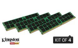 Kingston DDR4 32GB (Kit 4x8GB) DIMM 2400MHz CL17 ECC Reg SR x8