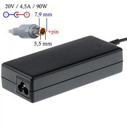 Akyga Nabíječka na notebook 20V/4.5A 90W 7.9x5.5 mm + pin pro LENOVO