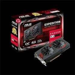 ASUS EX-RX570-O4G 4GB/256-bit, GDDR5, DVI, HDMI, DP