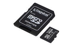 Kingston paměťová karta 32GB Industriální micro SDHC UHS-I CL10 (čtení/zápis: 90/45MB/s) + SD adaptér