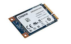 Kingston SSD 120GB SSDNow mS200 SATA III mSATA MLC (čtení/zápis: 550/520MB/s; 86/48K IOPS)