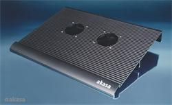 """AKASA AK-NBC-02B chladič pro notebook do 17"""", černý"""