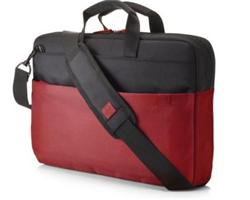 """HP 15.6"""" Duotone BriefCase - Red"""