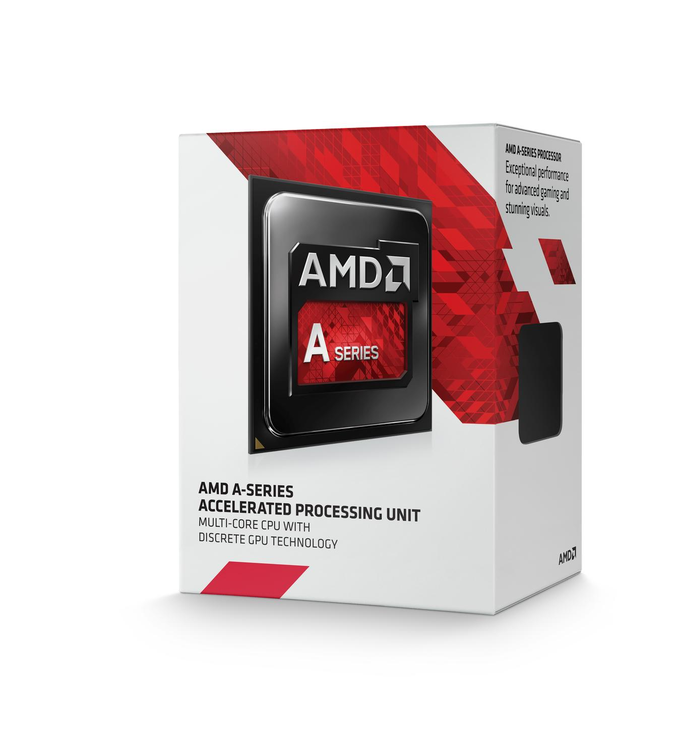 CPU AMD Kaveri A8-7600 4c Box (3,1Ghz, 4MB)