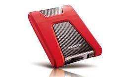 """ADATA externí HDD HD650 1TB USB 3.1 2.5"""" guma/plast (5400 ot./min) červený"""
