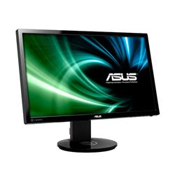 "ASUS VG248QE 24""W 3D LED 1920x1080 Full HD 80.000.000:1 1ms 350cd DVI HDMI DP repro černý"