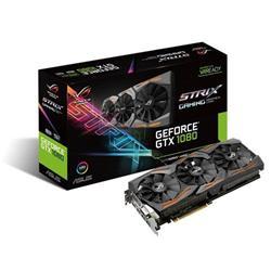 ASUS STRIX-GTX1080-8G-GAMING 8GB/256-bit, GDDR5X, DVI, 2xHDMI, 2xDP