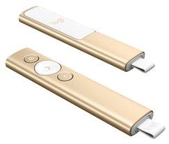 Logitech® BT/WL Presenter SPOTLIGHT - EMEA - GOLD