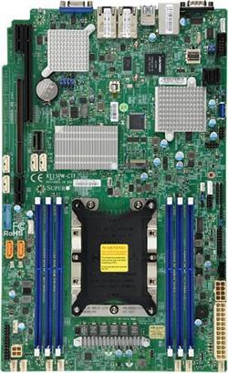 SUPERMICRO MB 1xLGA3647, iC622, 6x DDR4 ECC, 10xSATA3, 4x SAS 3008, 1xM.2, PCI-E 3.0/1,1(x32,x8),2x 10Gb LAN,IPMI, WIO