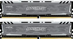 Crucial DDR4 16GB (Kit 2x8GB) Ballistix Sport LT DIMM 2400MHz CL16 DR x8 šedá