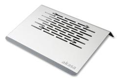 """AKASA AK-NBC-15AL Aries chladič pro netbook 10"""" - 11.6"""" hliníkový, bílý"""