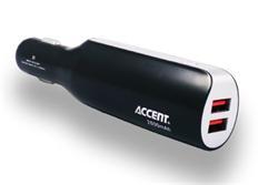 Accent Car Power - kombinace powerbanky (2800mAh) a autonabíječky