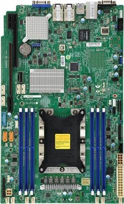 SUPERMICRO MB 1xLGA3647, iC622, 6x DDR4 ECC, 10xSATA3, 1xM.2, PCI-E 3.0/1,1(x32,x8),2x 10Gb LAN,IPMI, WIO