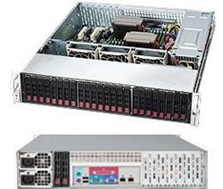 "SUPERMICRO 2U chassis 24x 2,5"" HS SAS/SATA (6x SFF 8643), 2x920W (80+ platinum)"