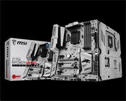 MSI Z170A MPOWER GAMING TITANIUM/Intel Z170/3x PCIe x16/4x DDR4/6x SATA III/M.2/U.2/USB 3.1/SLi/GLAN/DVI/HDMI/TPM/ATX