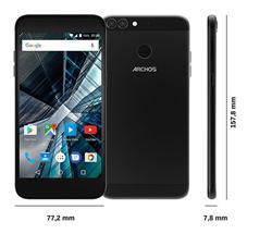 """ARCHOS Sense 55 DC, 5.5""""1280x720 IPS,1.5GHzQC,2/16GB,Android 7, 13mpx dual cam,LTE,MicSD,Dual SIM,3000mAh,černý"""
