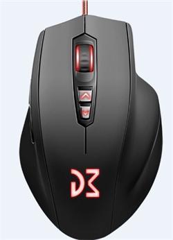 Dream Machines DM2 Comfy profesionální herní myš s optickým snímačem Pixart PMW3310DH s rozlišením 400 - 5000 DPI