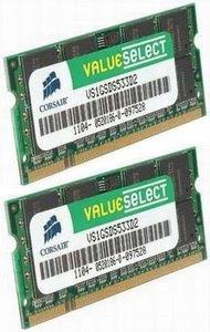 Corsair DDR2 4GB (Kit 2x2GB) SODIMM 800MHz CL5