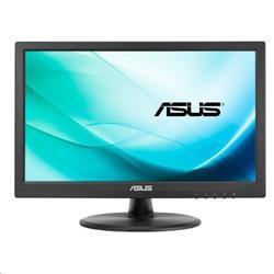 """ASUS VT168N 15,6"""" TN 10-bodový dotykový monitor 1366x768 50mil:1 10ms 200cd DVI-D, D-Sub černý"""