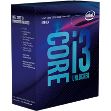 INTEL Core i3-8350K 4.0GHz/4core/6MB/LGA1151/Coffee Lake/overclocking/bez chladiče