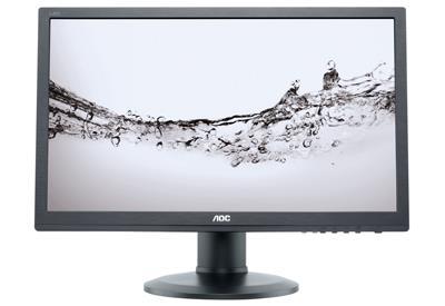 AOC LCD e2460Pq/BK 24'' LED, 2ms,DC50mil.,DVI,DP,repro,1920x1080,HAS,pivot,č.