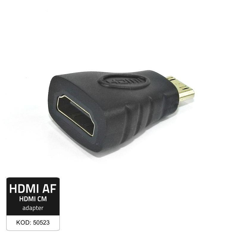Qoltec Adapter HDMI Female/ Mini HDMI Male
