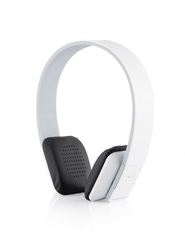 Modecom sluchátka MC-350B CURE White Bluetooth