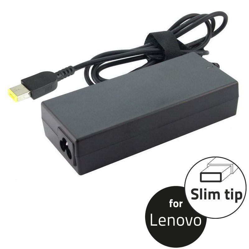 Qoltec Adaptér pro notebooky Lenovo 65W | 20V | 3.25A | Slim tip