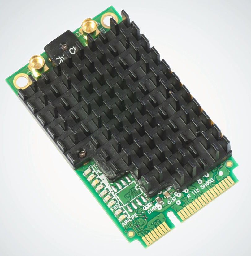 MIKROTIK R11e-5HacD 802.11ac miniPCI-e adaptér