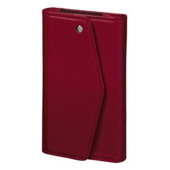 Hama pouzdro-peněženka na mobil Clutch, velikost XL, korálové