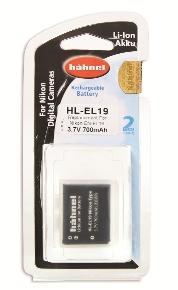 Hähnel HL-EL19 - Nikon EN-EL19 3.7V, 700mAh, 2.6Wh