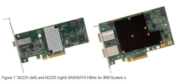 System x N2225 12Gbps SAS/SATA HBA for IBM System x
