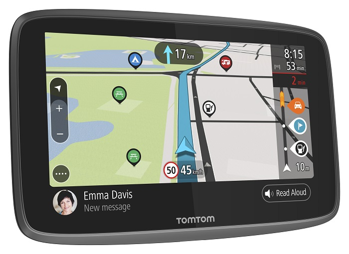 TomTom GO CAMPER WORLD (EMEA), Connected