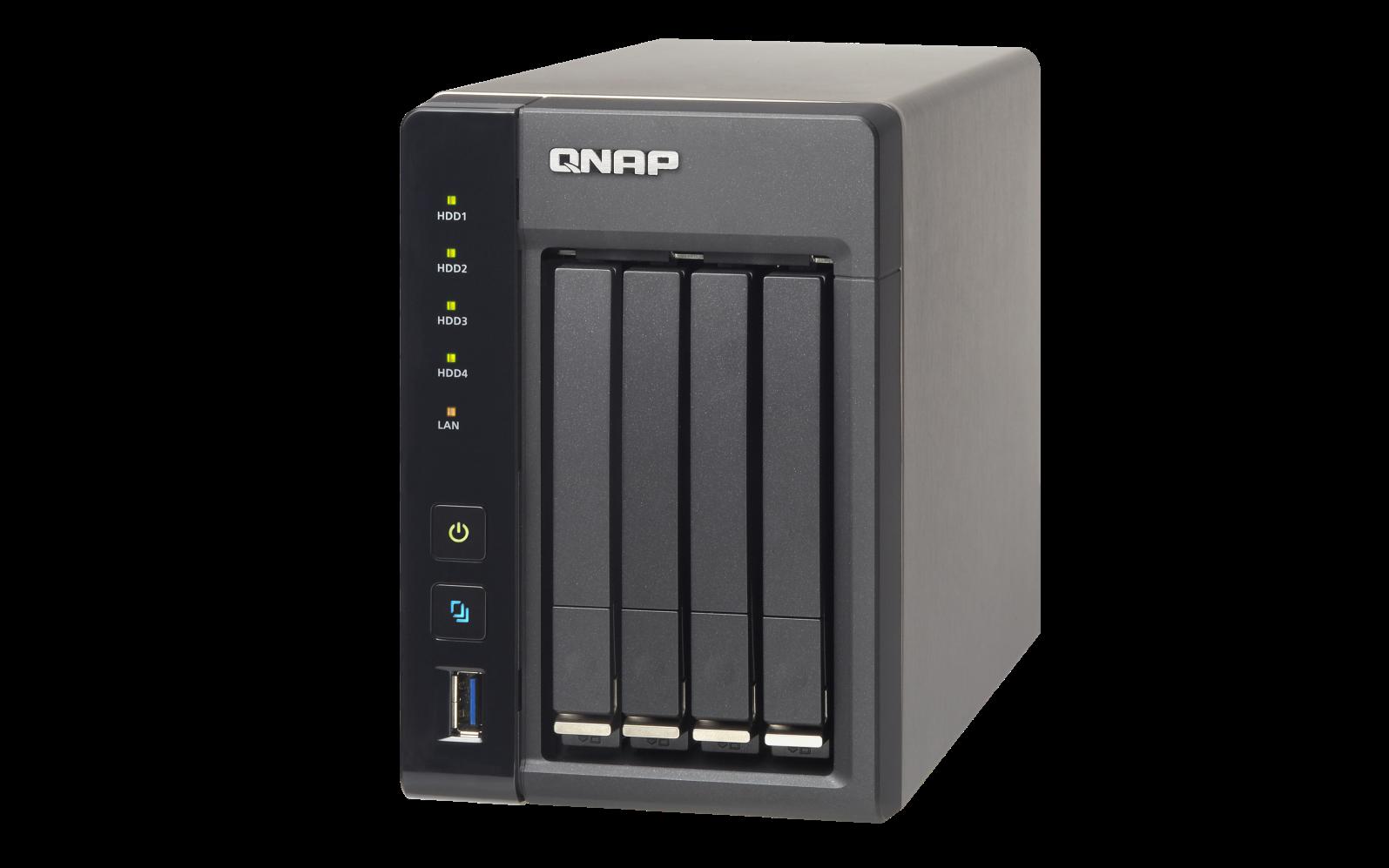 QNAP TS-453S-Pro (2,4G/4GB RAM/4xSATA)
