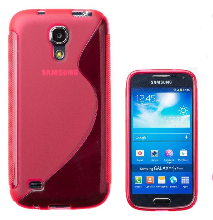 CONNECT IT pouzdro na telefon, Samsung Galaxy S4 Mini (i9195) ČERVENÉ