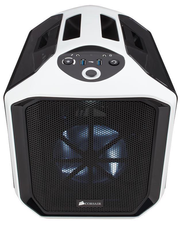 Corsair PC skříň Graphite Series™ 380T Mid Tower, Portable Case, bílá