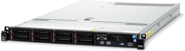 System x Express x3550M4 Xeon 6C E5-2620v2 80W 2.1GHz/15MB, 1x8GB, 0GB 2.5in (8), M5110(512MB flash), DVD-RW, 550W