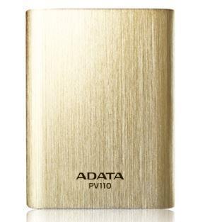ADATA PV110 Power Bank 10400mAh zlatá