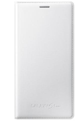 Samsung flip. pouzdro pro S5 mini (EF-FG800),White