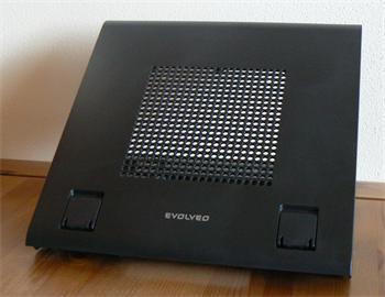 """EVOLVEO ErgoStand Easy, chladicí podstavec pro notebook do 15,6"""", výškově stavitelný, 10cm větrák"""