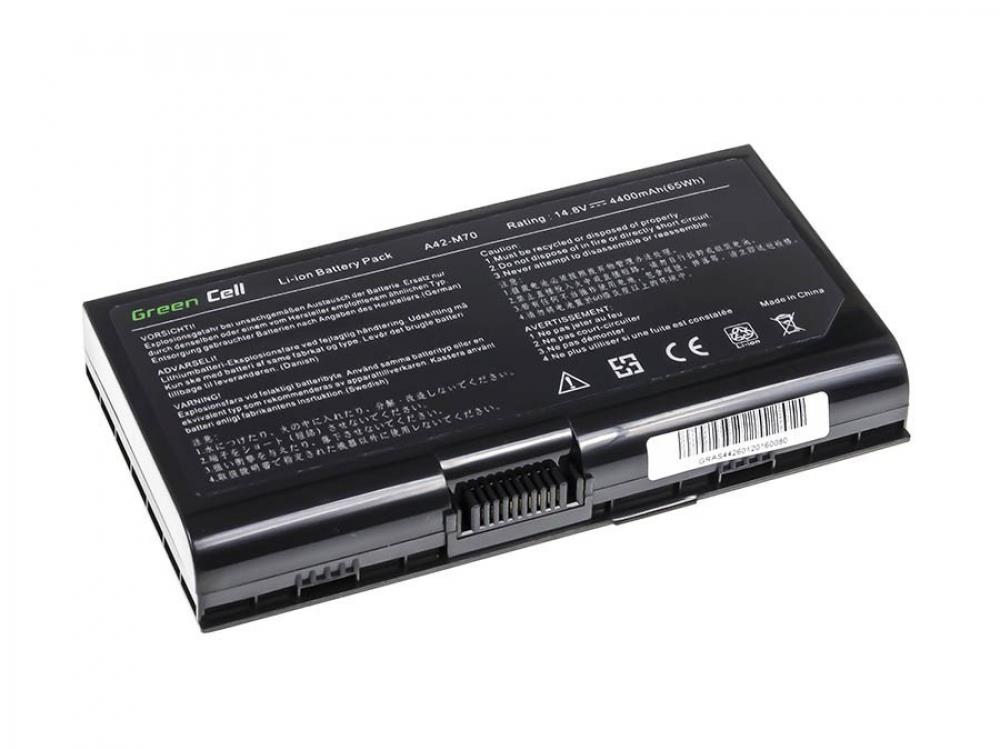 Baterie Green Cell pro Asus A42-M70 M70 M70V X71 G71 X72 N70SV
