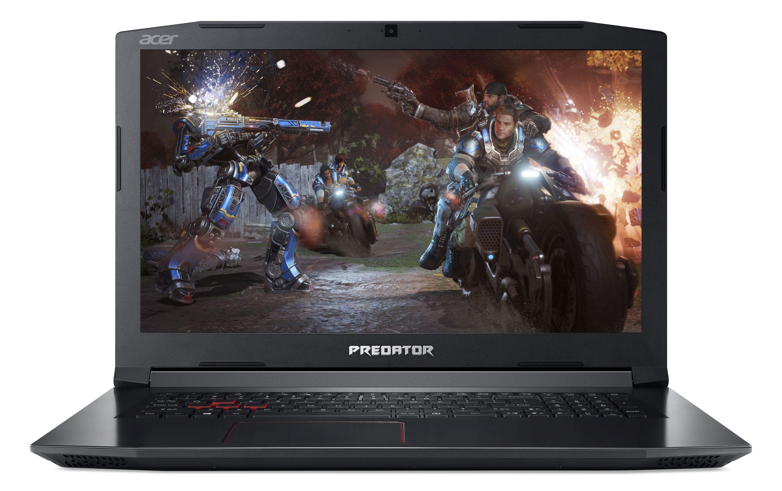 """Acer Predator Helios 300 (PH317-52-700L) i7-8750H/8GB+N/1TB 7200 ot.+N (M2)/GTX 1060 6GB/17,3"""" FHD IPS matný/BT/W10 Home"""