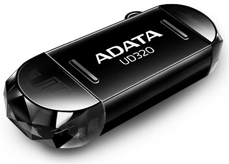 ADATA memory USB UD320 16GB USB 2.0, USB + micro USB, RETAIL
