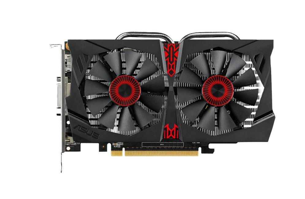 ASUS GeForce GTX 750 Ti OC, 2GB GDDR5 (128 Bit), HDMI, DVI, DP