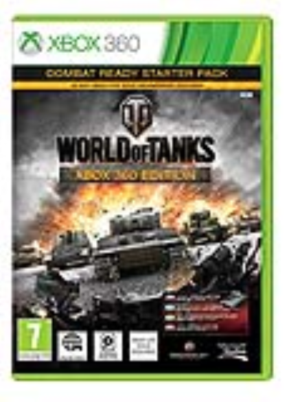 XBOX 360 - World of Tanks Combat ready starter pack