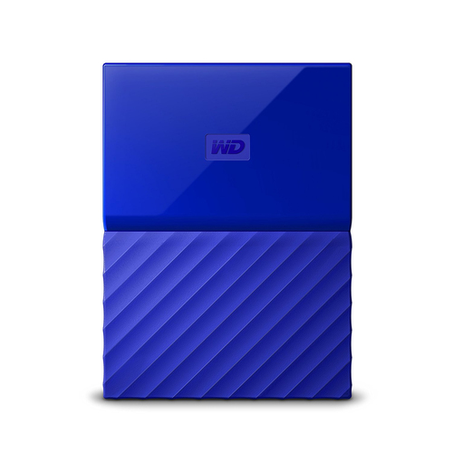"WD My Passport 2TB Ext, 2,5"" USB3.0, BLUE"