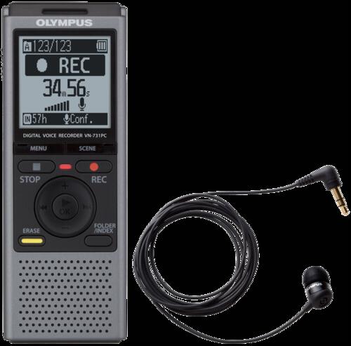 Olympus VN-731 PC + TP-8 grau