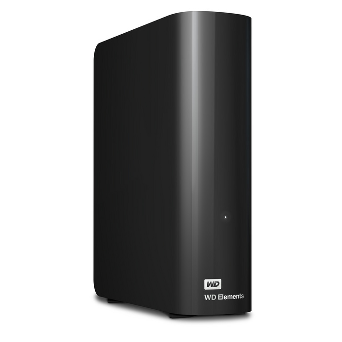 "WD Elements Desktop 5TB Ext. 3.5"" USB3.0, Black"